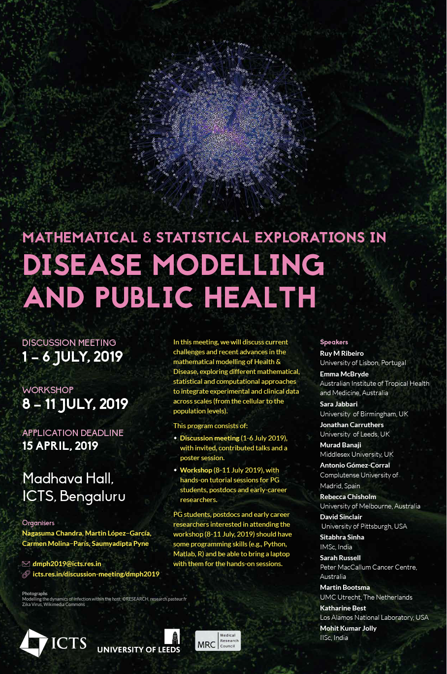 Mathematical and statistical explorations in disease
